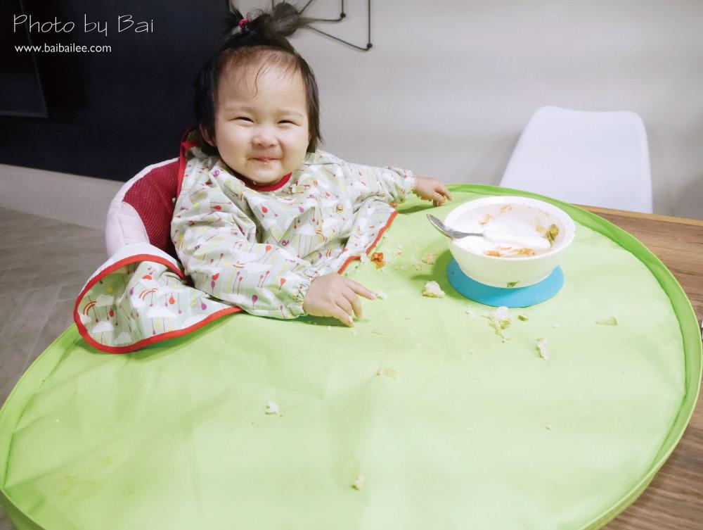 [團購] 一歲小孩必備!寶寶學走學吃飯好幫手,Tidy TOT圍兜防髒托盤/GGOMOOSIN襪鞋/MiDeer拼圖/BEBECOOK嬰幼兒海苔