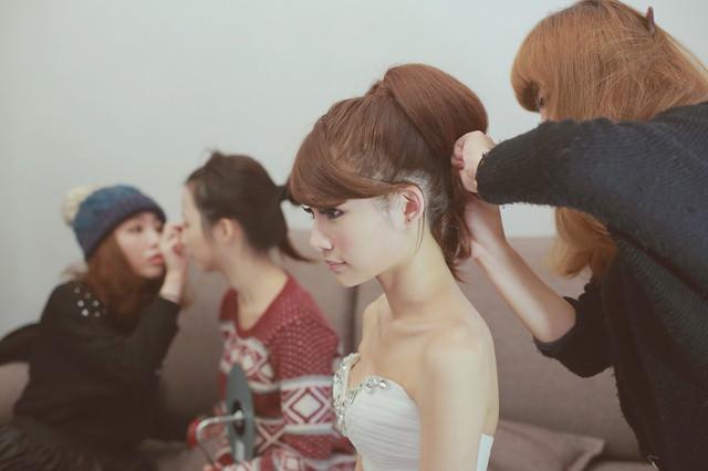 [婚禮紀錄] 婚禮上的3件禮服及新祕分享-NINIKO STYLE/青樺婚紗